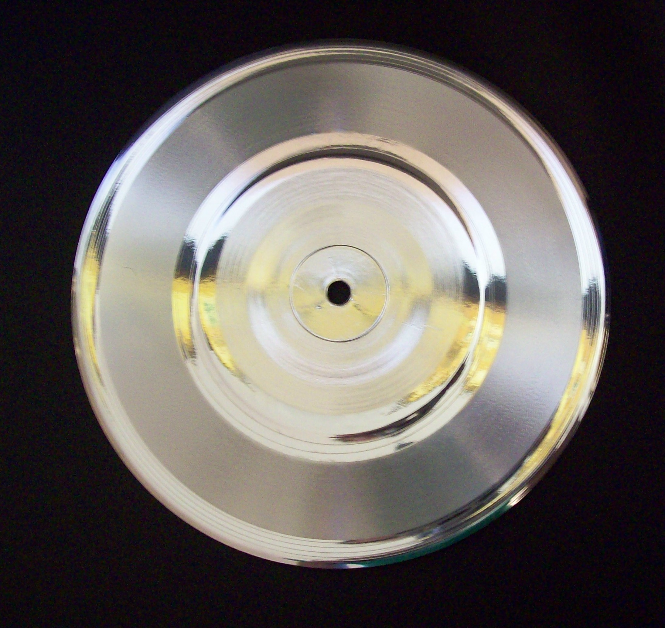 Image for Platinum/Silver 45rpm Small Hole