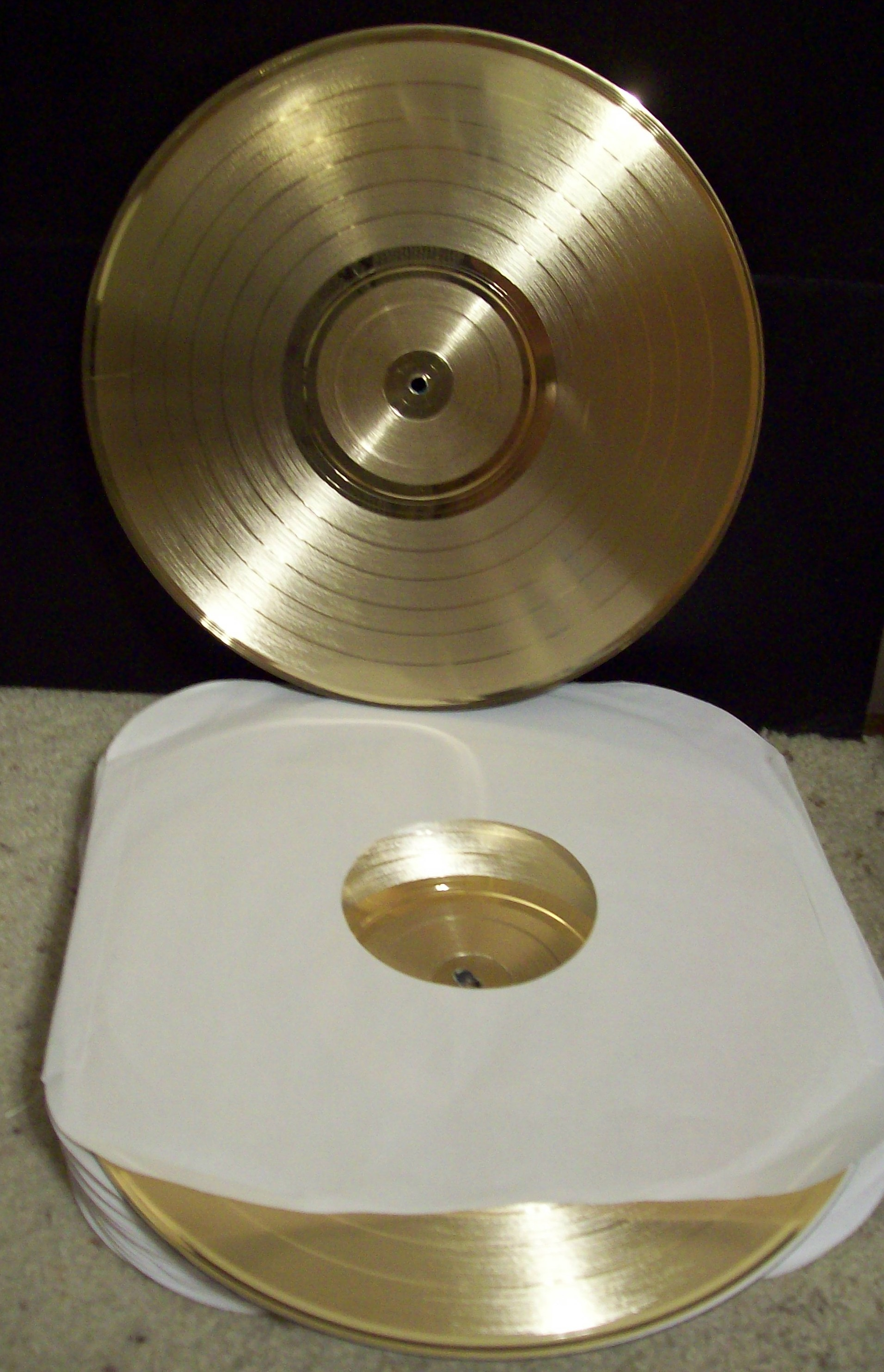 Image for Blemished (2nd's) Gold LP Record